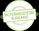 Biotermesztésre alkalmas